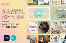 Pastel Spring Mini Youtube Pack