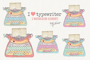 I Love Typewriter