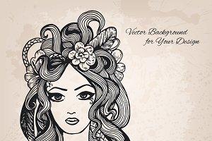 Artistic vector illustration
