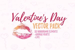 Valentine's Day vector pack