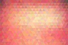 Vector polygonal background
