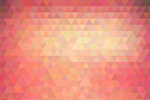 Vector polygonal background
