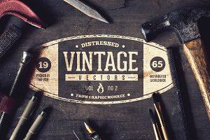 Distressed Vintage Logo Maker