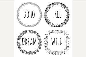 Boho Style Frames