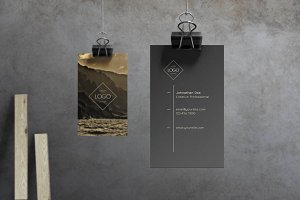 Ember - Business Card