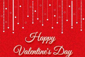 Valentines Day Vintage Lettering