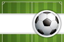 Soccer ball brochure