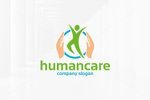 Human Care Logo Template