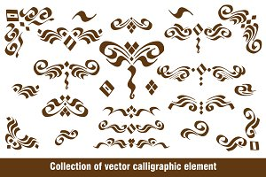 Set Calligraphic elements