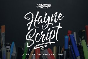 Hayne Script + Sans