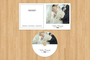 Photographer Cd Label & Cover-v207