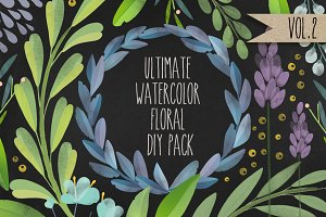 Ultimate Floral DIY Pack. Vol.2