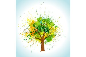 Vector tree and frame