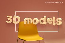 3D Letters Model Vol 01 by  in Presentations