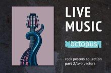 Live music. Octopus