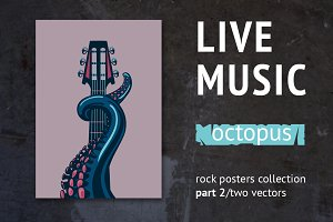Live music. Octopus