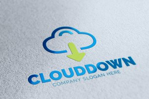 Cloud Download Logo