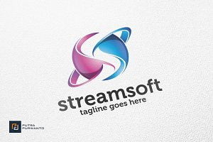 Streamsoft / Letter S - logo