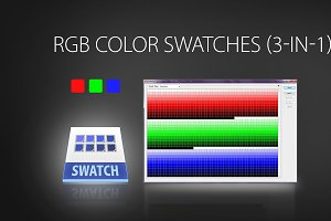 RGB color swatches (3-IN-1)