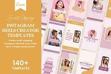 Instagram Reels Video Bundle Canva