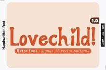LOVECHILD! Retro Font