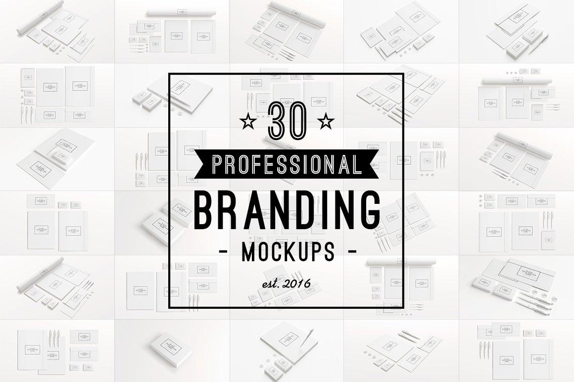 Branding Mockups [1080P Edition] ~ Branding Mockups