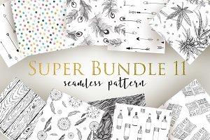 Super Bundle seamless pattern