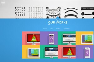Fun Folio HTML template