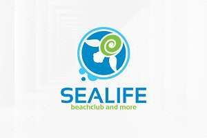 Sea Life Logo Templates