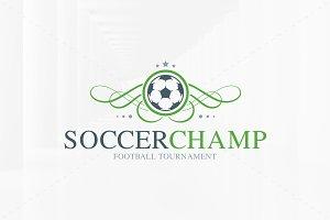 Soccer Champ Logo Template