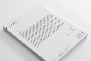 Data box Letterheads with MS Word