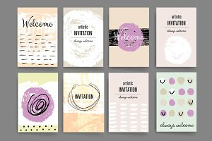Invitation cards.