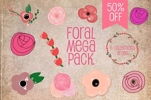 Floral Mega Pack (50% off)