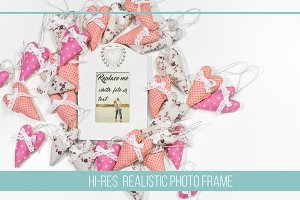 Romantic Frame Mock Up #3