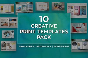 Creative Print Templates Pack