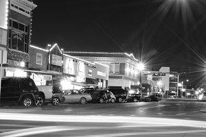 Lights on Hickory Street