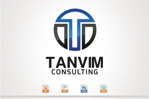 Tanvim,T Letter Logo