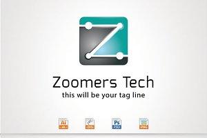 Zoomers tech,Z Letter Logo