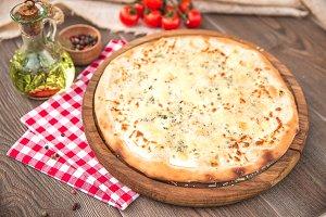 Italian Pizza quattro fromaggi