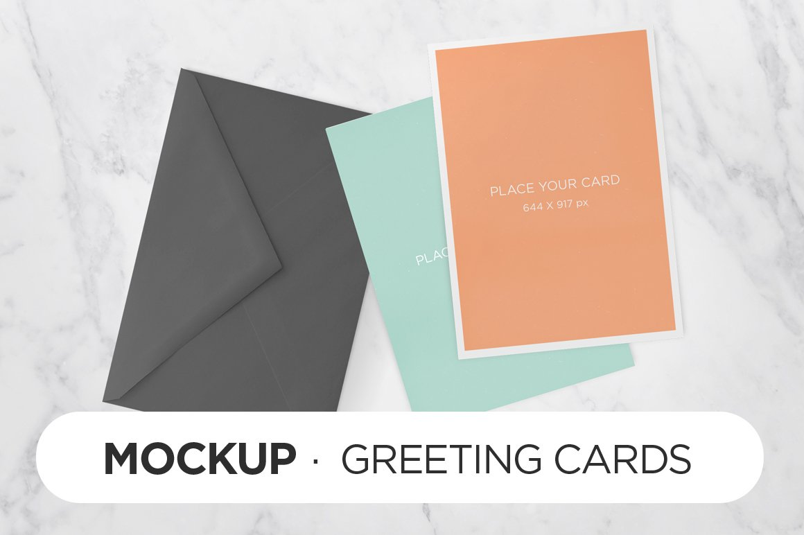 Greeting cards mockup product mockups creative market kristyandbryce Image collections