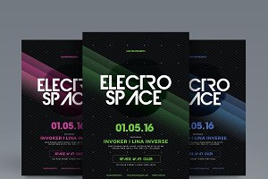 Electro Space Party