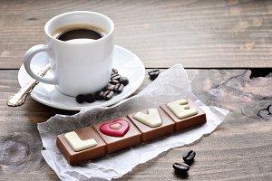 Coffee & chocolate LOVE