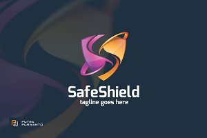 Safe Shield / Letter S - Logo