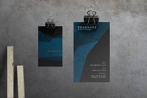 Spade - Modern Business Card