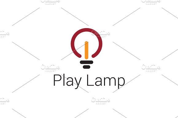 Play Lamp Logo