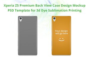 Xperia Z5 Premium 3d IMD Case
