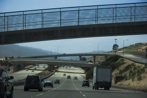 Bay Area Freeway (Photo)