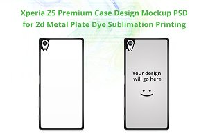 Xperia Z5 Premium 2d IMD Case