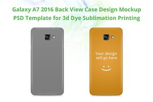 Galaxy A7 2016 3d IMD Case Mock-up