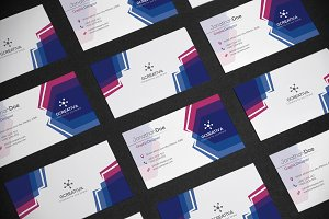 Business Card Abstract